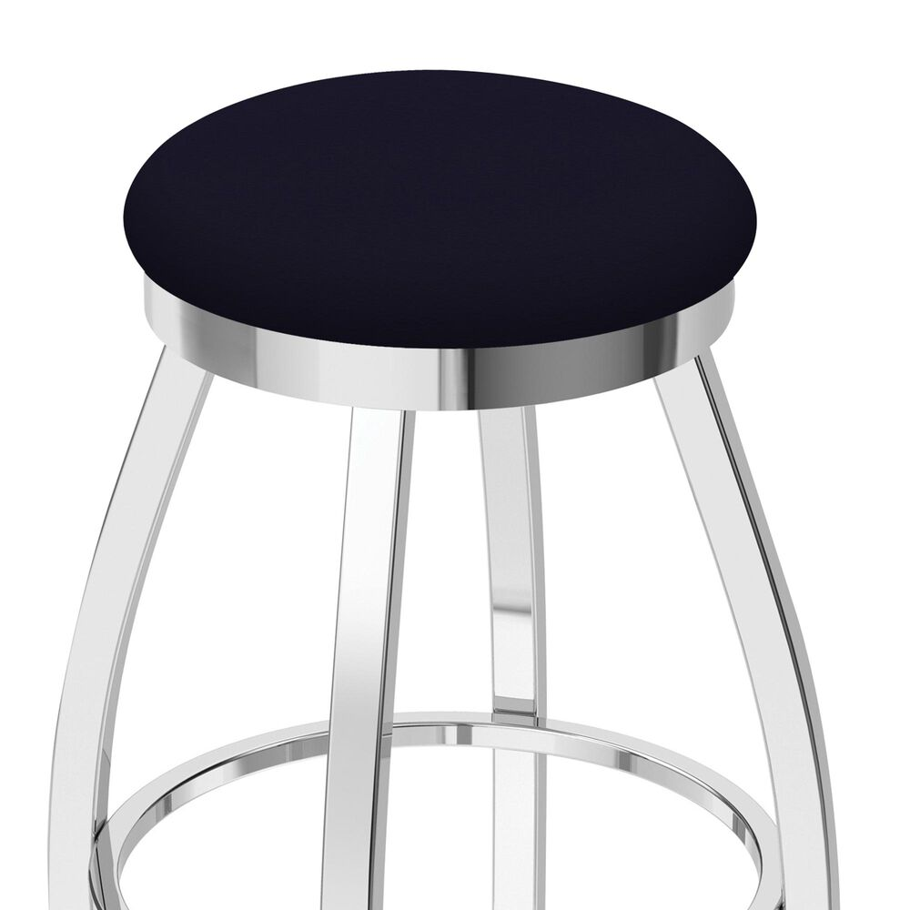 """Holland Bar Stool 802 Misha 25"""" Swivel Counter Stool with Chrome and Canter Twilight Seat, , large"""