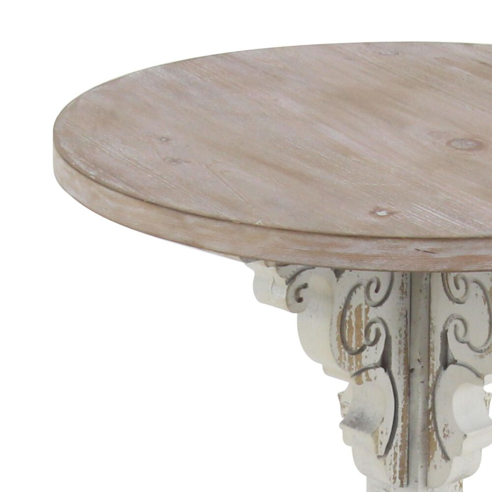 """Maple and Jade 23"""" x 15"""" Accent Table in Grey, , large"""