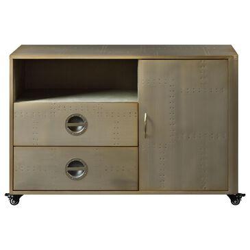 Gunnison Co. Jennavieve Cabinet in Gold Aluminum, , large
