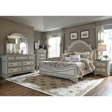 Belle Furnishings Magnolia Manor Dresser in Antique White, , large