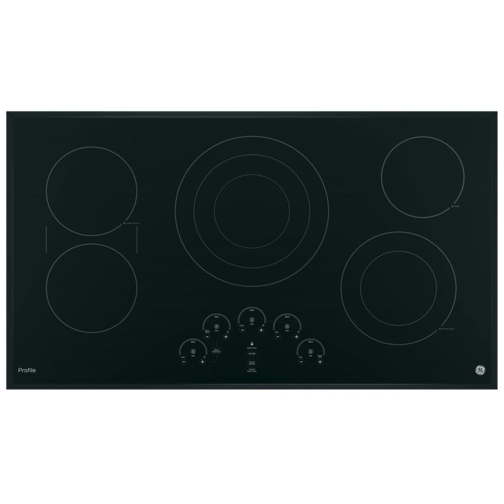 "GE Profile 36"" Built-In Touch Control Electric Cooktop, , large"