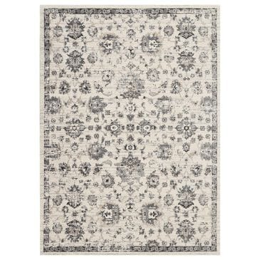 "Nourison Fusion FSS15 9'6"" x 13' Cream and Grey Area Rug, , large"