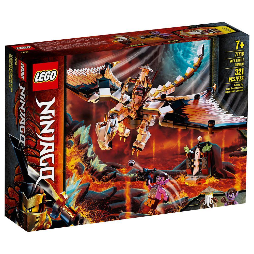 LEGO Ninjago Wu's Battle Dragon Building Set, , large