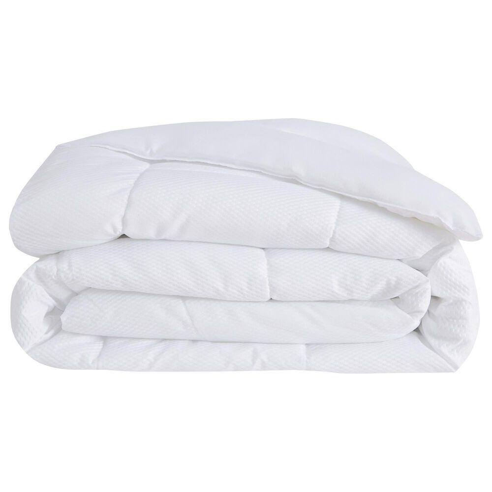 Pem America London Fog King Down Alternative Comforter in White, , large