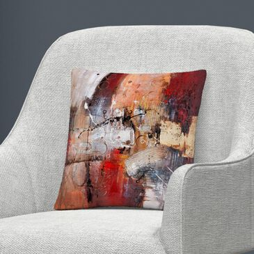 Timberlake Rio 'Cube Abstract V' 16 x 16 Decorative Throw Pillow, , large