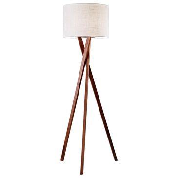 37B Brooklyn Floor Lamp in Walnut, , large