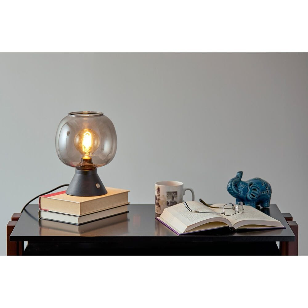 Adesso Ashton Table Lantern in Matte Black, , large