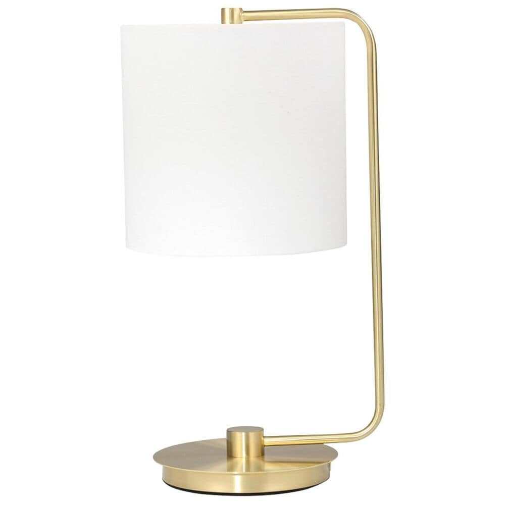 """Sagebrook Home 21"""" Table Lamp in Gold, , large"""