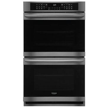 Frigidaire 30'' Double Electric Wall Oven in Black Stainless Steel, , large