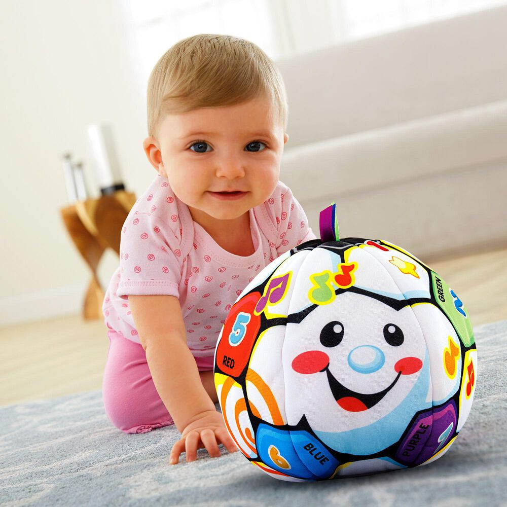 Laugh and Learn Singing Soccer Ball, , large