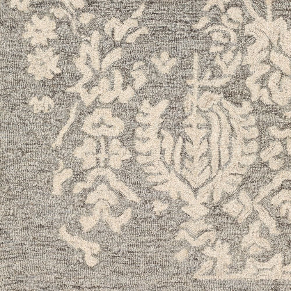 Surya Granada GND-2312 8' x 10' Medium Gray, Beige and Charcoal Area Rug, , large