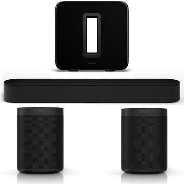 SONOS 5.1 Surround Sound Set in Black, , large