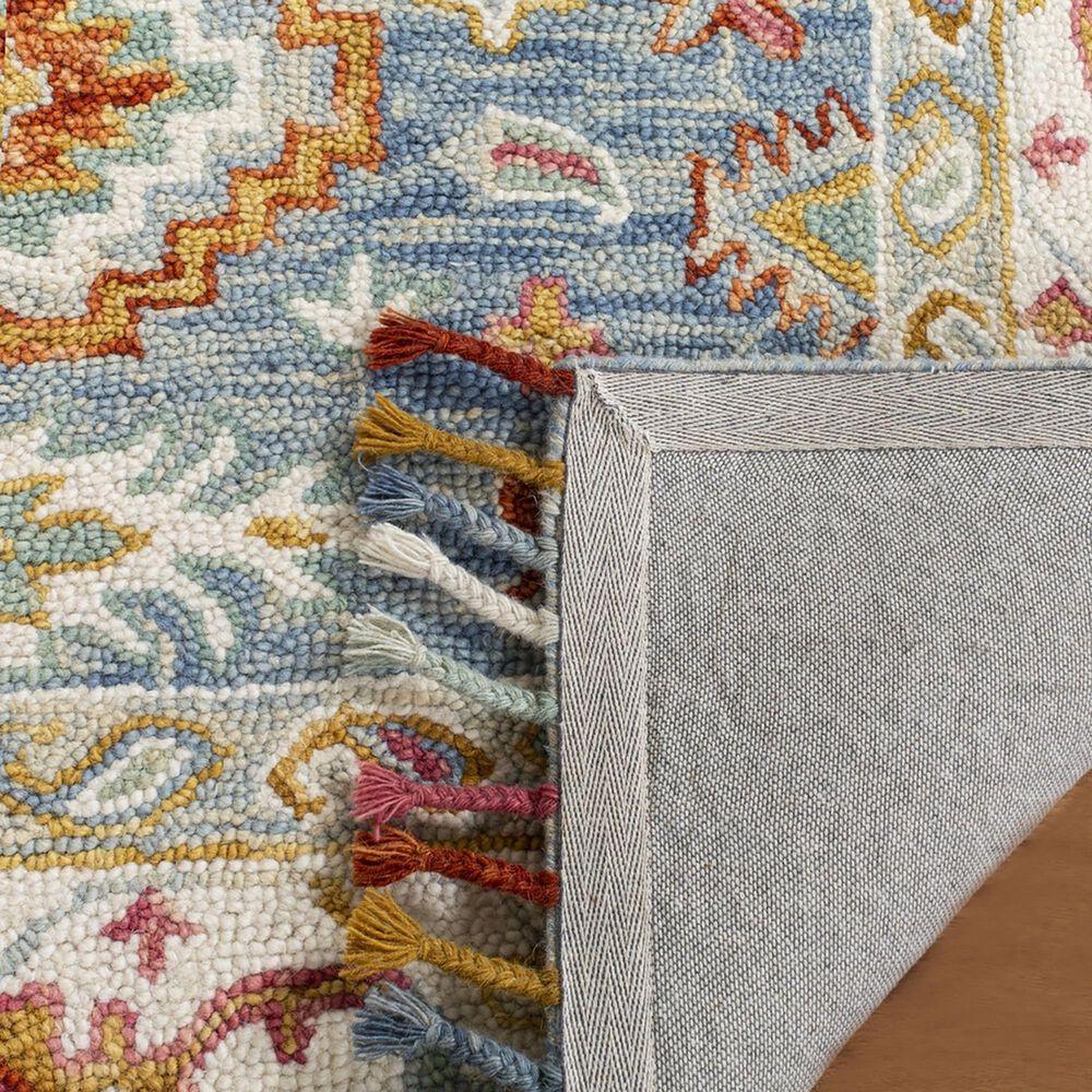 Safavieh Aspen 3' x 5' Blue and Ivory Area Rug, , large