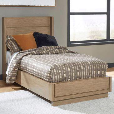 Home Styles Big Sur Twin Platform Bed in Oak, , large