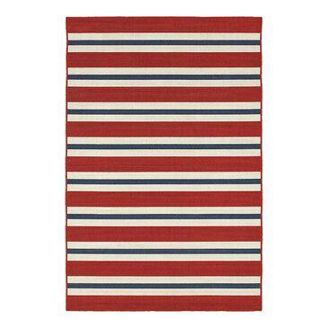 """Oriental Weavers Meridian 5701R 3'7"""" x 5'6"""" Red Area Rug, , large"""