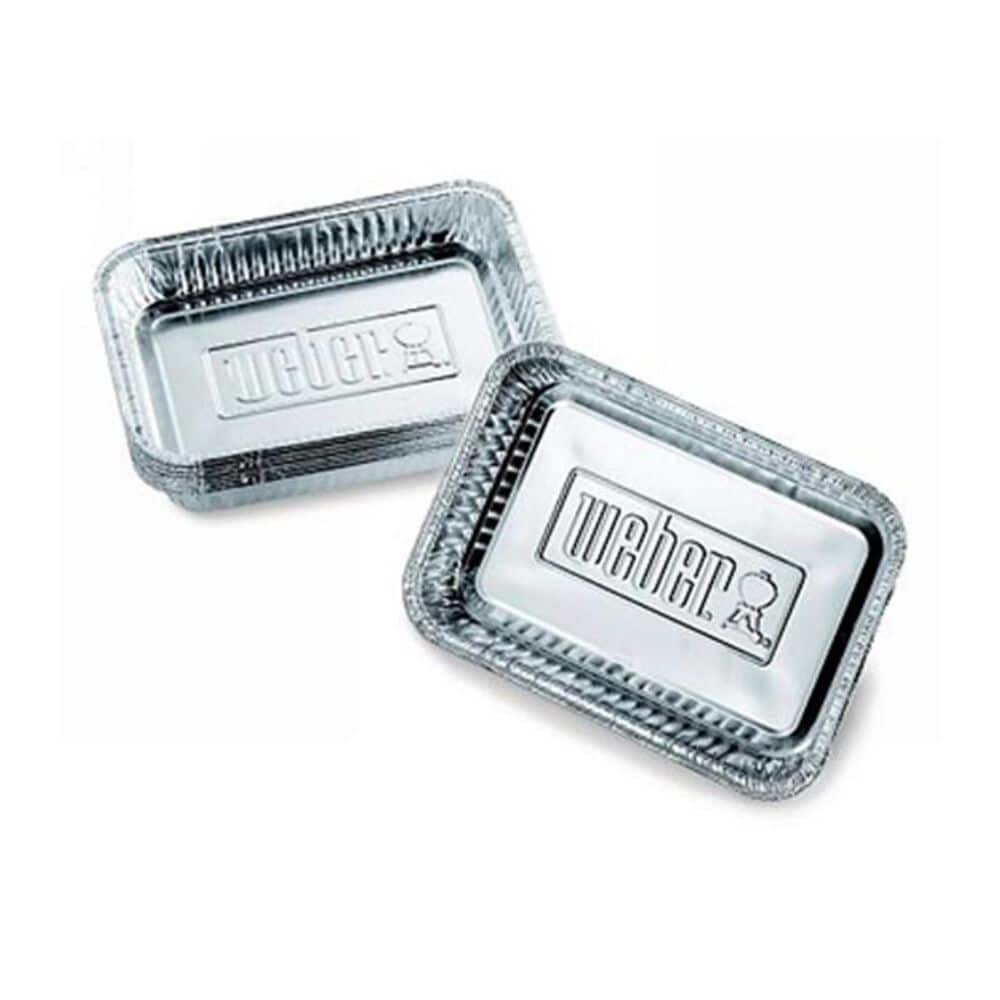Weber Small Drip Pan - 10 Pack, , large