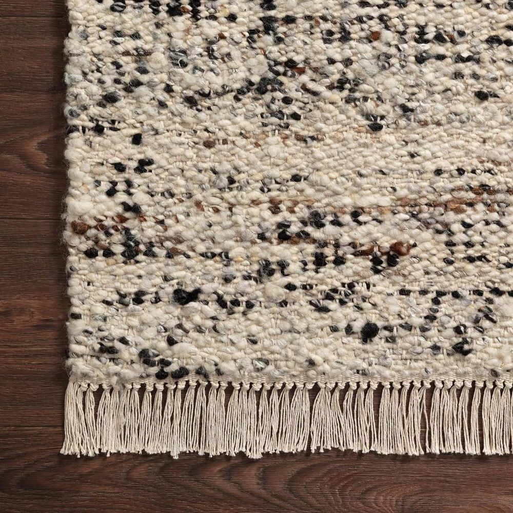 """Magnolia Home Hayes 2'3"""" x 3'9"""" Pebble and Natural Area Rug, , large"""