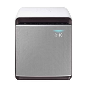 Samsung Cube Air Purifier with Wind-Free Air Purification in Airy White, , large