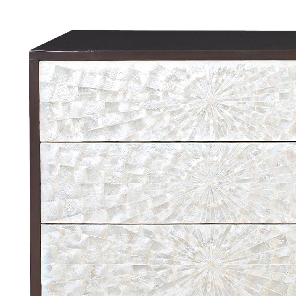 Bernhardt Adagio 6 Drawer Dresser in Espresso and Bronze, , large