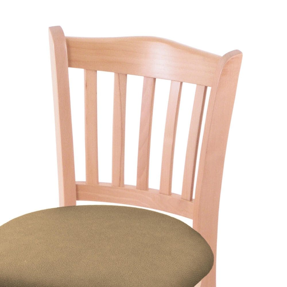"""Holland Bar Stool 3120 30"""" Bar Stool with Natural Finish and Canter Sand Seat, , large"""