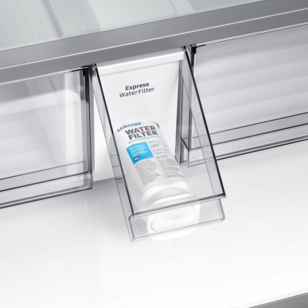 Samsung 29 Cu. Ft. 4-Door Flex French Door Refrigerator with Beverage Center in Stainless Steel, , large
