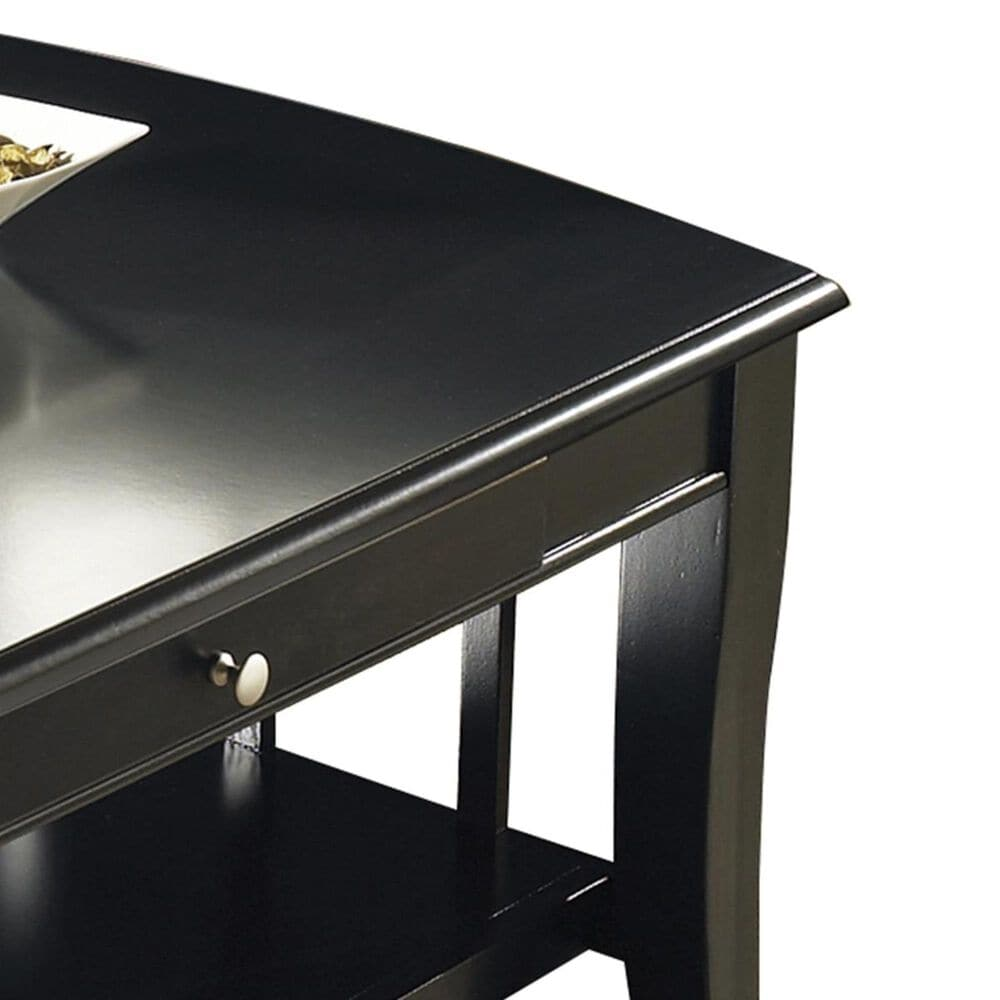 Crystal City Cassidy Cocktail Table in Black, , large