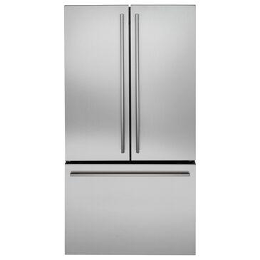 "Monogram Minimalist 36"" Counter Depth French Door Refrigerator in Stainless Steel, , large"