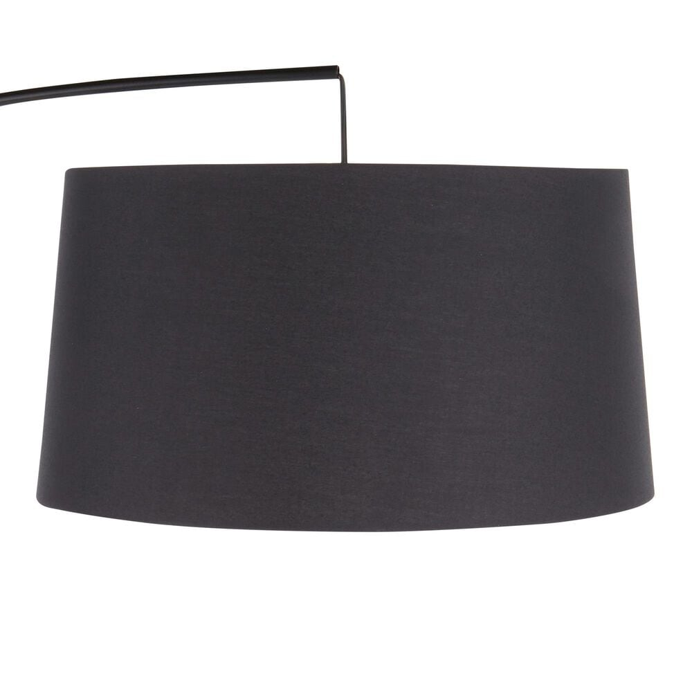 Lumisource Robyn Floor Lamp in Black and Walnut, , large