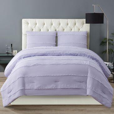 Pem America Kristen 3-Piece Full/Queen Comforter Set in Lavender, , large