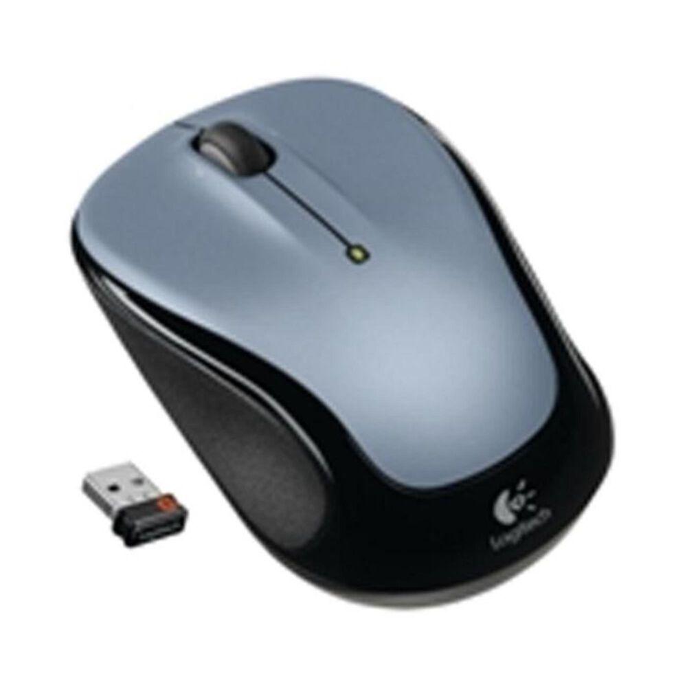 Logitech Wireless Mouse M325 - Light Silver, Silver, large