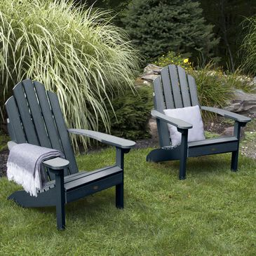 Highwood USA Classic Westport Adirondack Chair in Federal Blue (Set of 2), , large