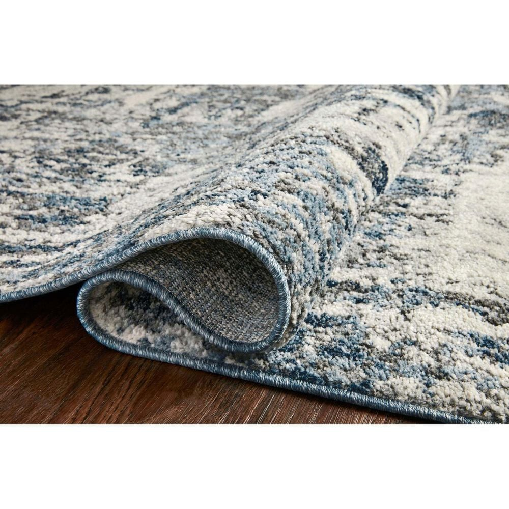 """Loloi II Austen 6'7"""" x 9'2"""" Natural and Ocean Area Rug, , large"""