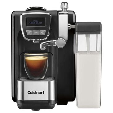 Cuisinart Defined, Cappuccino with Latte Espresso Machine in Black and Stainless Steel, , large