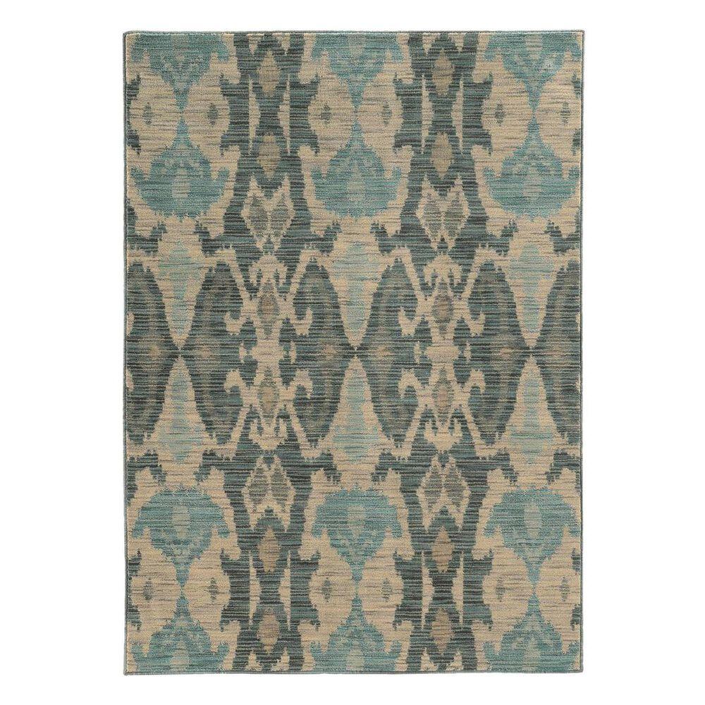 "Oriental Weavers Sedona 6410D 6'7"" x 9'1"" Blue Area Rug, , large"