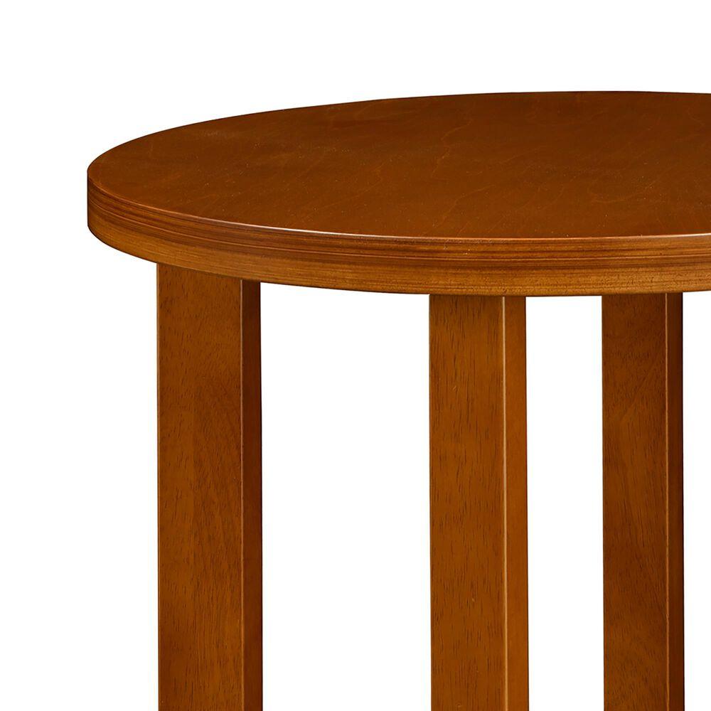 """Regency Global Sourcing Chloe 21"""" End Table in Cherry, , large"""