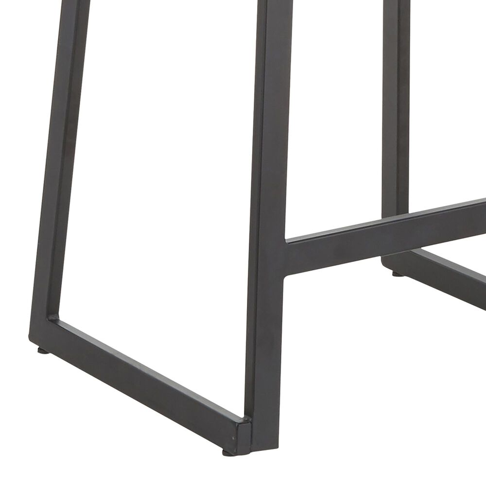Lumisource Geo Counter Stool in Black/Black (Set of 2), , large