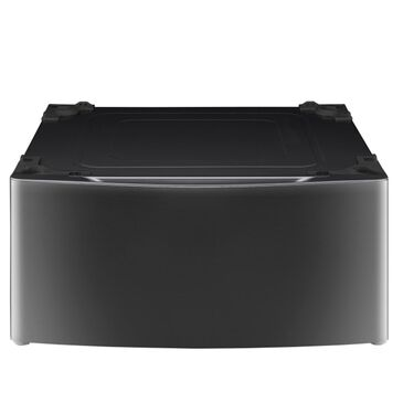 LG Laundry Pedestal in Black Stainless Steel, , large