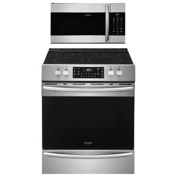 """Frigidaire Gallery 2-Piece Kitchen Bundle With a 30"""" Front Control Electric Range In Stainless Steel, , large"""