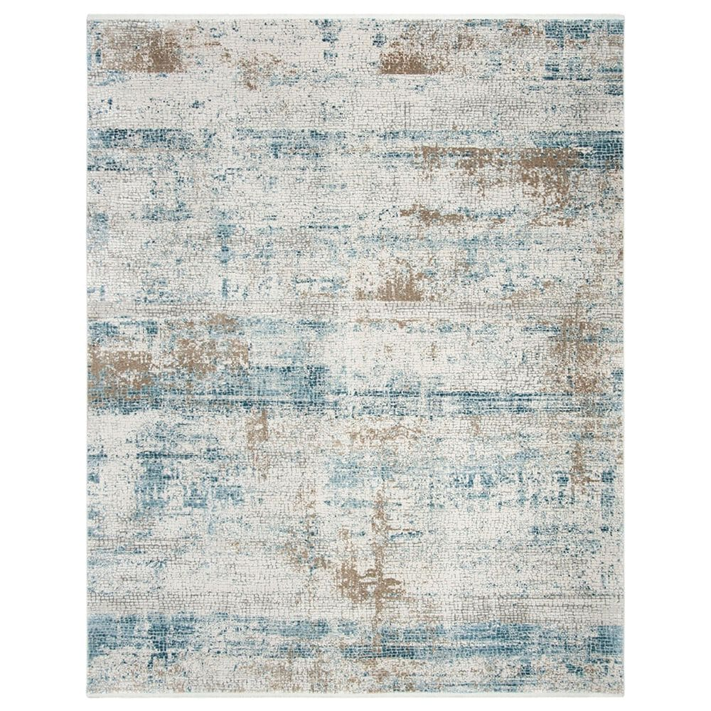 Safavieh Eclipse 8' x 10' Beige and Light Grey Area Rug, , large