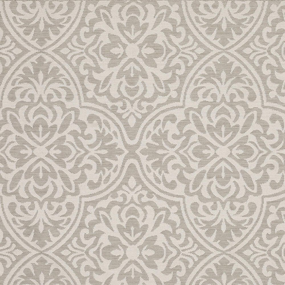 """Oriental Weavers Portofino Outdoor 1831H 3'3"""" x 5' Gray and Ivory Area Rug, , large"""