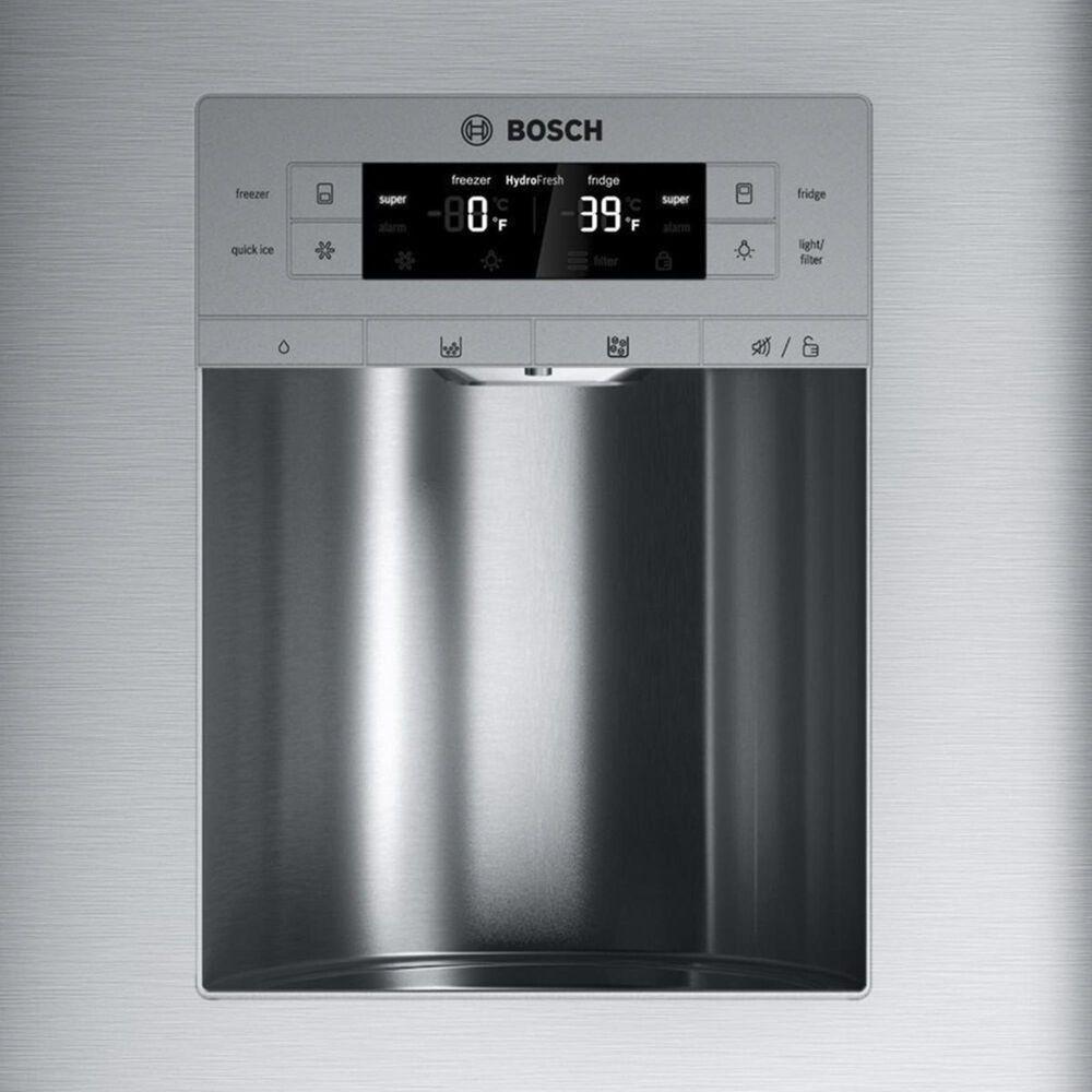 """Bosch 36"""" French Door Refrigerator with Door Lock in Stainless Steel, , large"""