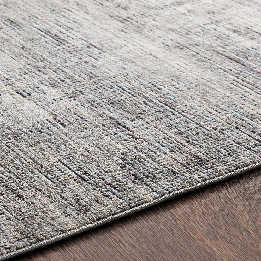 """Surya Presidential PDT-2308 3'3"""" x 5' Gray, Charcoal and Blue Area Rug, , large"""