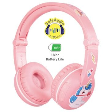 BuddyPhones Play Headphones in Pink Sakura, , large