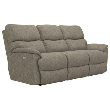 La-Z-Boy Trouper Power Reclining Sofa with Headrest in Sable, , large