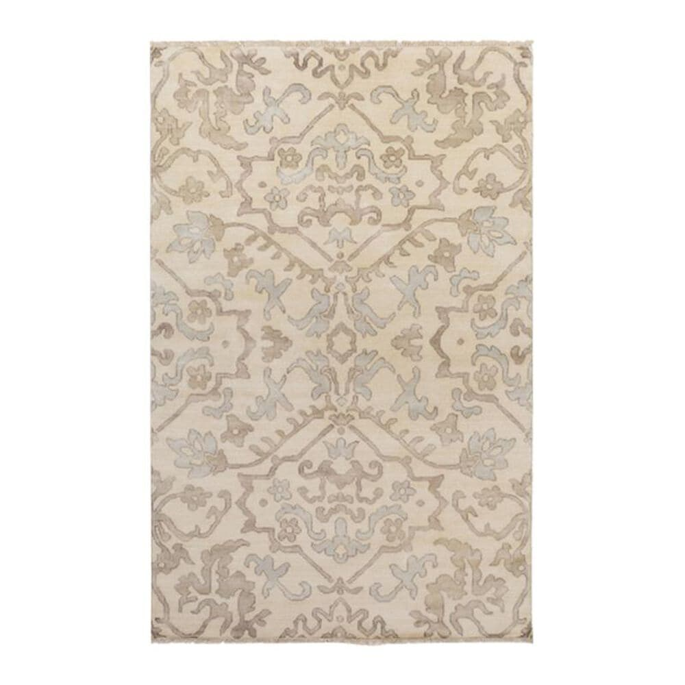 """Surya Hillcrest HIL-9040 5""""6"""" x 8""""6"""" Camel, Gray and Taupe Area Rug, , large"""