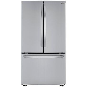 """LG 23 Cu. Ft. 36"""" Wide 3-Door French Door Refrigerator Counter Depth in Stainless Steel , , large"""