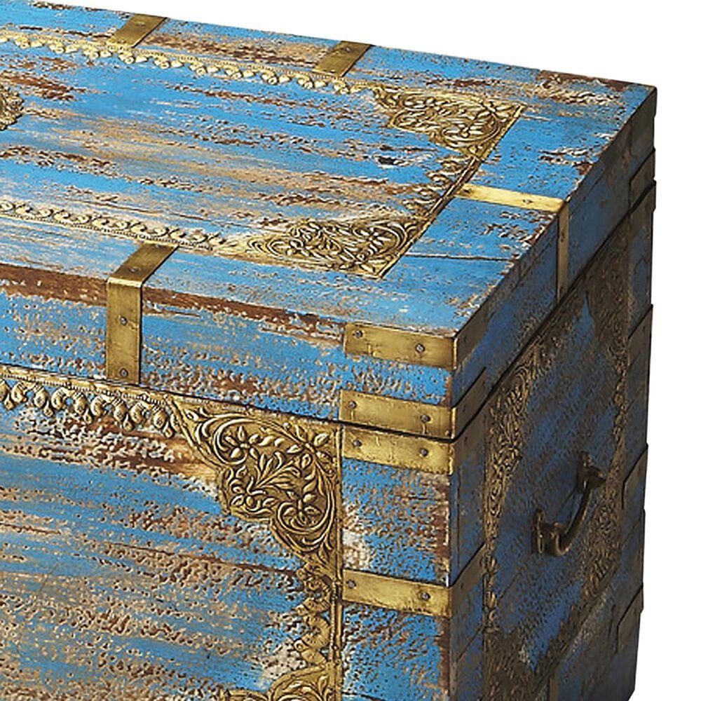 Butler Neela Storage Trunk in Blue, , large