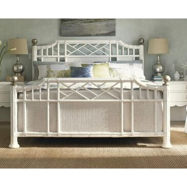 Tommy Bahama Home Ivory Key Pritchards Bay King Panel Bed in Somers Isle, , large