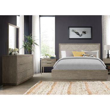 Shannon Hills Zoey 4 Piece Queen Single Storage Bedroom Set in Urban Gray, , large