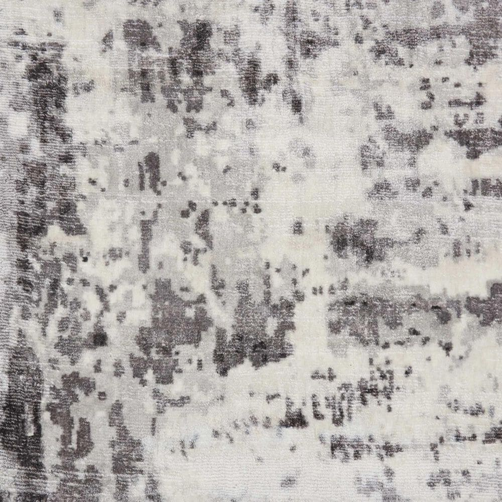 Nourison Safari Dreams KI372 9' x 12' Ivory and Grey Area Rug, , large